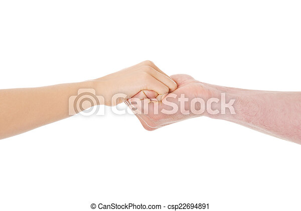 Couple holding hands - csp22694891