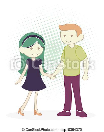 Couple - csp10364370