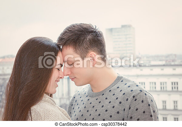 girl and guy love