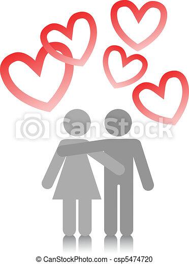 couple in love - csp5474720