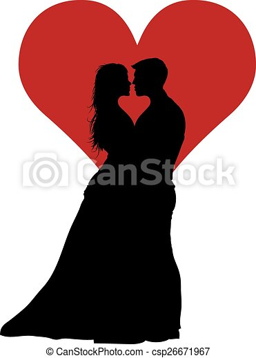 couple in love with red heart clip art vector csp26671967 Secrets Of Ukraine Woman An Intro fotografo
