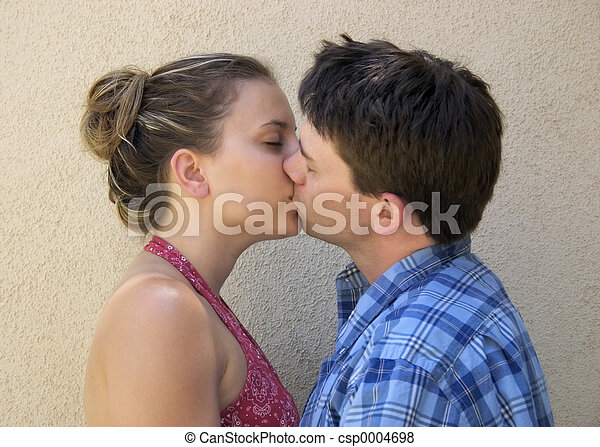 Couple Kissing - csp0004698