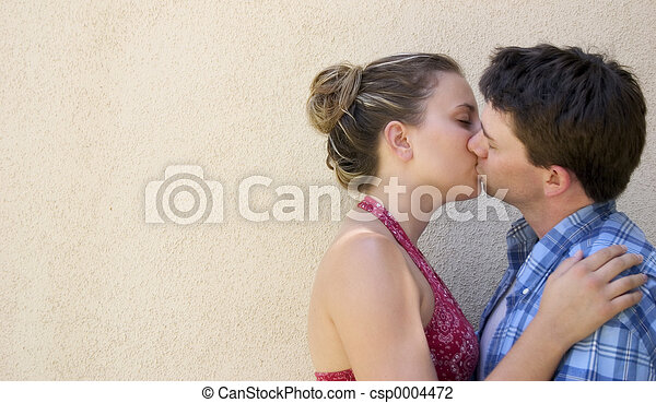 Couple Kissing - csp0004472