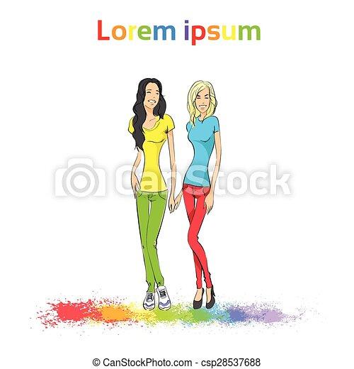 Lesbian gay male