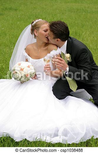 couple mariage nouveau mari jour beau palefrenier mari e mariage blanc jour beau. Black Bedroom Furniture Sets. Home Design Ideas
