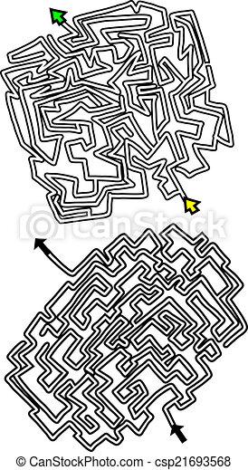 Couple mazes - csp21693568