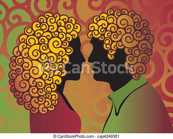 couple, mod - csp4249381