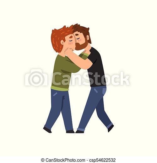 Clipart gay man cartoon