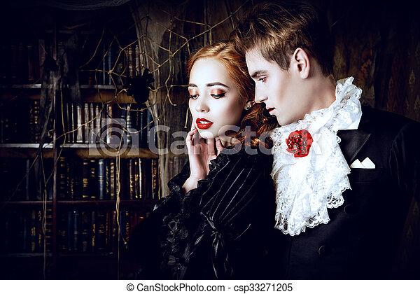 Couple of vampires csp33271205