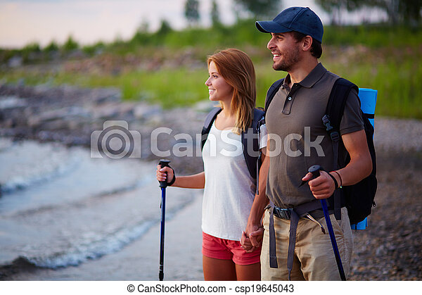 Couple on vacation - csp19645043