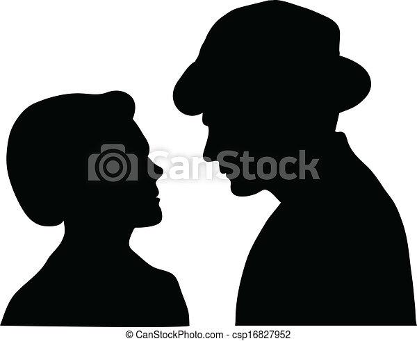 couple silent - csp16827952