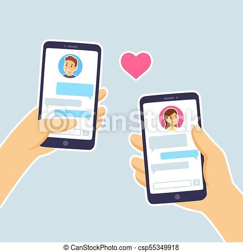 Envoyer un message à une fille en ligne datant