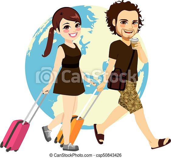 Couple Traveling - csp50843426