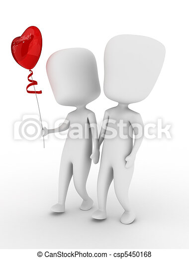 Couple Walking - csp5450168