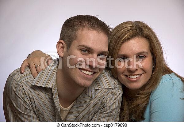 couple2, giovane - csp0179690
