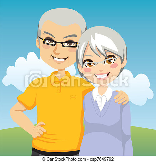 couples aînés - csp7649792