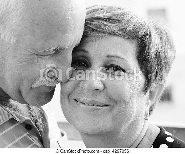 couples aînés - csp14297056