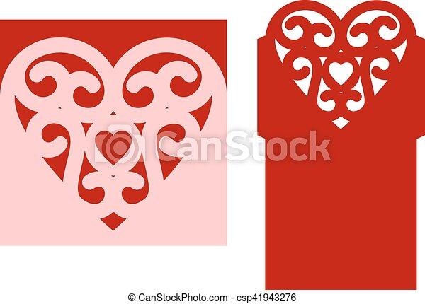 coupure, laser, mariage - csp41943276