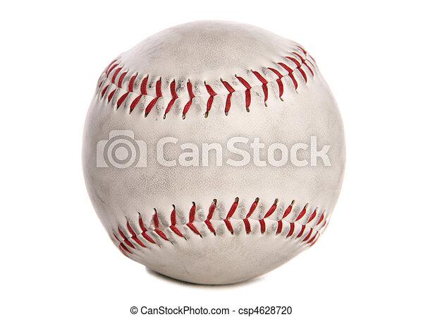 coupure, utilisé, base-ball - csp4628720
