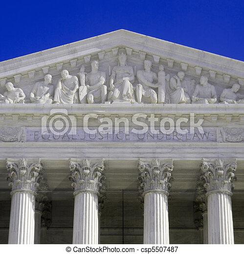 cour suprême - csp5507487