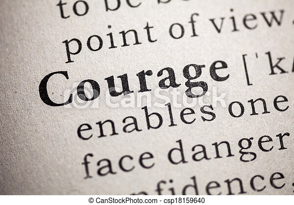 courage - csp18159640