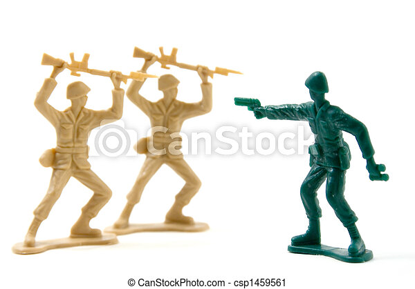 Courage - Two on One Plastic Soldiers - csp1459561