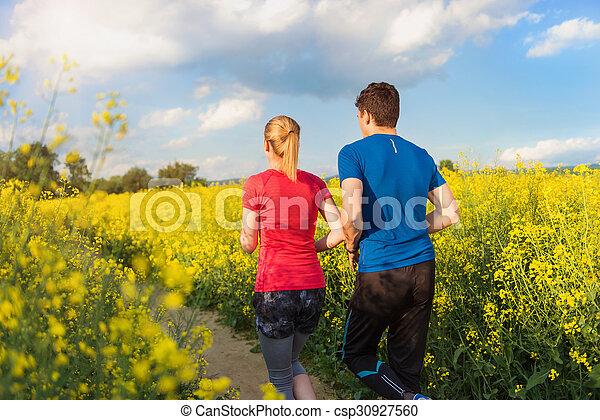 courant, couple, jeune - csp30927560