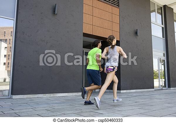 courant, couple, jeune - csp50460333