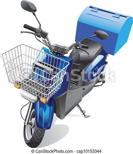 courier scooter - csp10153344