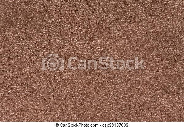 couro, marrom, textura, fundo - csp38107003