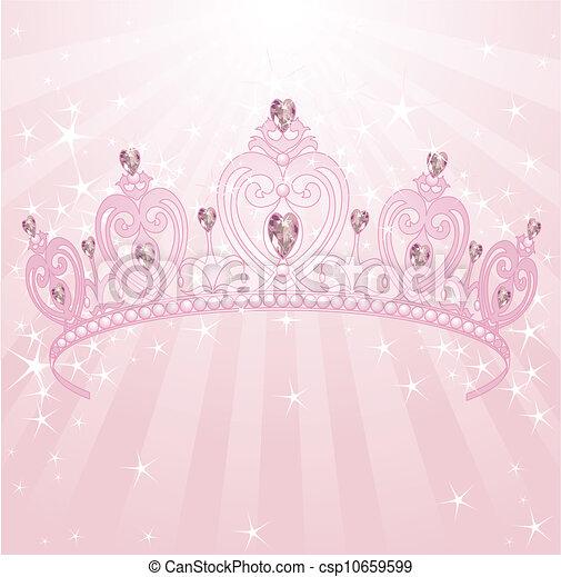 couronne princesse - csp10659599