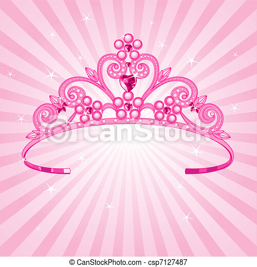 couronne, princesse - csp7127487