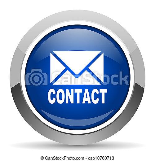 courrier, icône - csp10760713