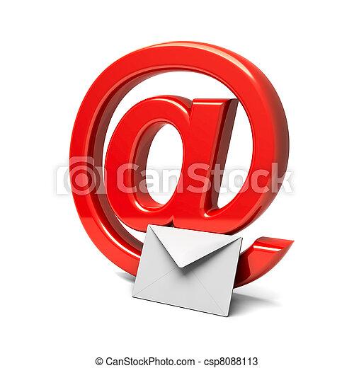 courrier - csp8088113