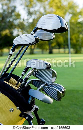 cours, clubs, golf - csp2155603