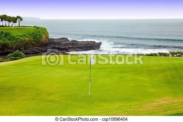 cours, golf - csp10896404