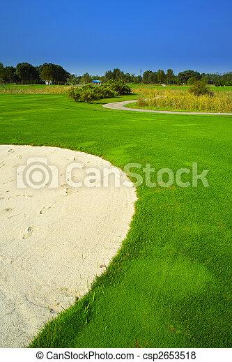 cours, golf - csp2653518