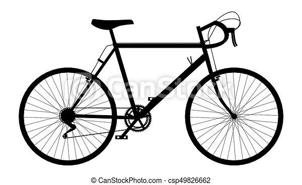 Courses Silhouette Vélo