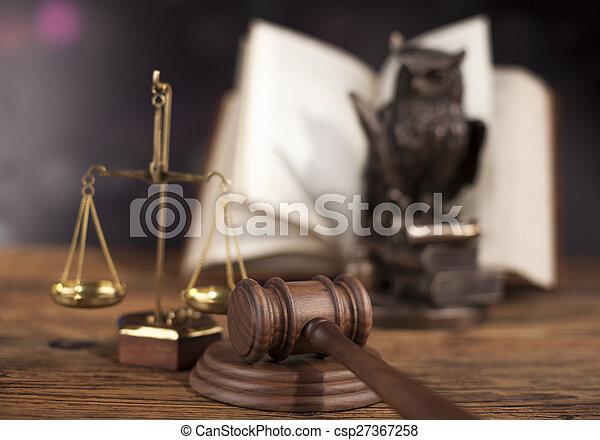 Court gavel,Law theme, mallet of judge - csp27367258