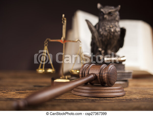 Court gavel,Law theme, mallet of judge - csp27367399