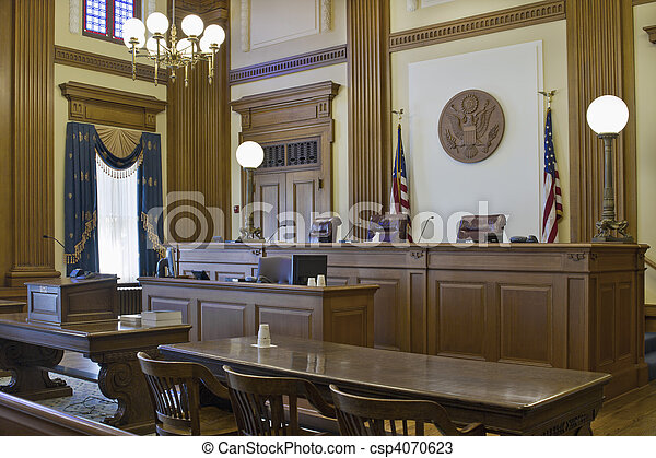 Court of Appeals Courtroom 2 - csp4070623