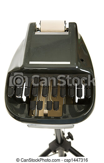 Court Reporting Stenography Machine - csp1447316
