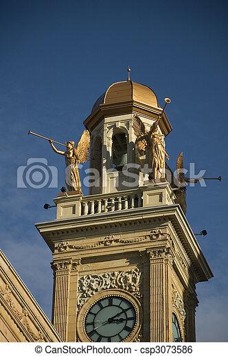 Courthouse in Canton, Ohio - csp3073586