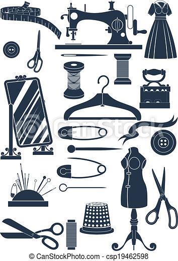 couture, accessoires - csp19462598