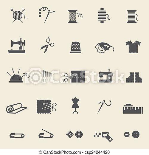 couture, icônes - csp24244420