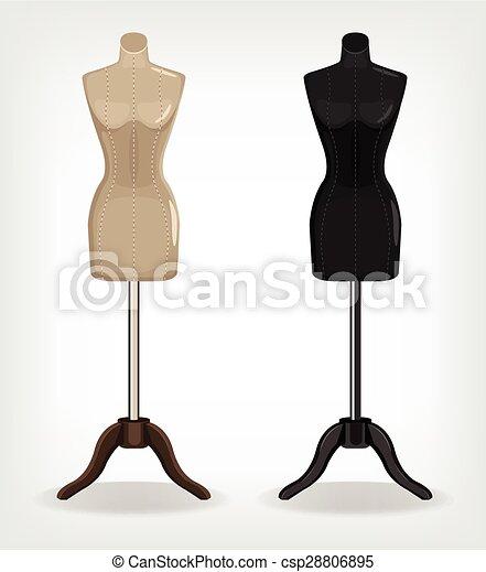 mannequin couture dessin n canard dessin anim n en papier jaune n dcoupage with mannequin. Black Bedroom Furniture Sets. Home Design Ideas