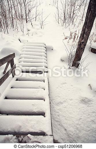 couvert escalier neige ext rieur hiver bois snow couvert escalier vue. Black Bedroom Furniture Sets. Home Design Ideas