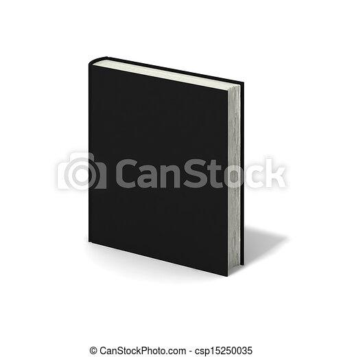 Couverture Arriere Plan Livre Noir Vide Blanc