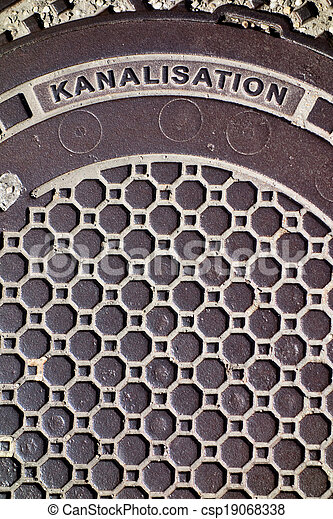 cover a sewer - csp19068338