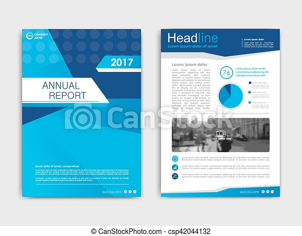 Cover Design Annnual Report Flyer Presentation Brochure